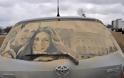Έργα τέχνης σε σκονισμένα αυτοκίνητα! (Photos) - Φωτογραφία 10