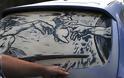 Έργα τέχνης σε σκονισμένα αυτοκίνητα! (Photos) - Φωτογραφία 13