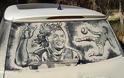 Έργα τέχνης σε σκονισμένα αυτοκίνητα! (Photos) - Φωτογραφία 14