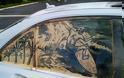 Έργα τέχνης σε σκονισμένα αυτοκίνητα! (Photos) - Φωτογραφία 9