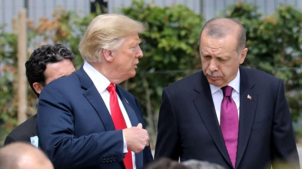 Έκτακτη επικοινωνία Τραμπ-Ερντογάν μετά την κόλαση πολέμου - Φωτογραφία 1