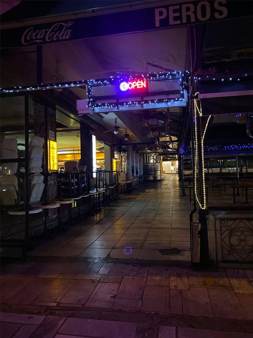 Σάββατο βράδυ: Πόλη-φάντασμα η Αθήνα - Φωτογραφία 2