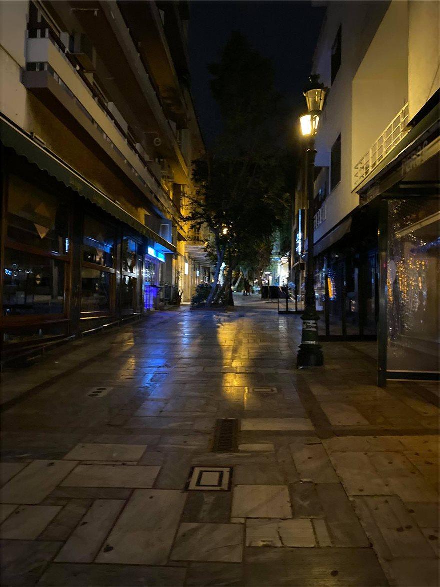 Σάββατο βράδυ: Πόλη-φάντασμα η Αθήνα - Φωτογραφία 6