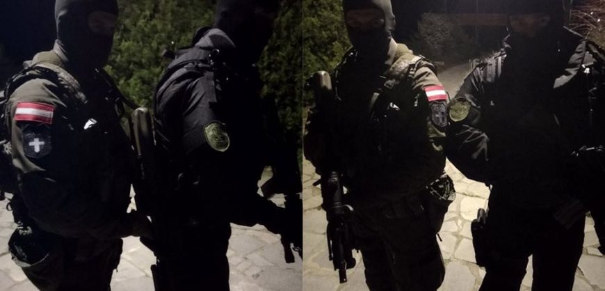 """Evros – Austrian Commandos to Turkish officers: """"Here it is our country, we defend the European borders"""" (photos) - Φωτογραφία 1"""