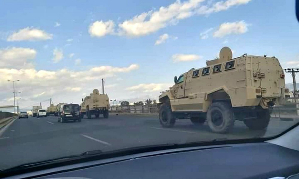 Στον Έβρο τα στρατιωτικά οχήματα που είδαμε στην Εθνική Οδό - Φωτογραφία 1