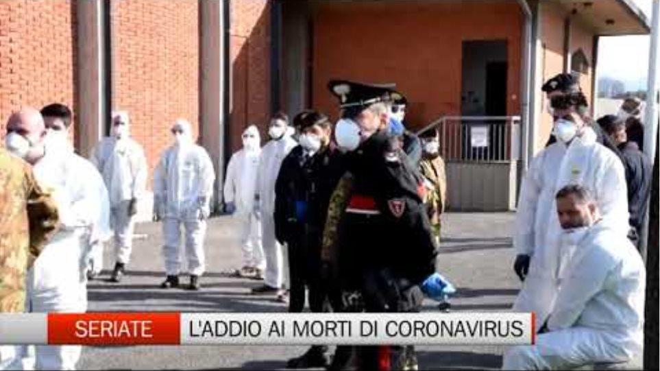 Ιταλία: Εκκλησία γεμάτη φέρετρα στο Μπέργκαμο - Συγκλονιστικές Φωτος - Φωτογραφία 2