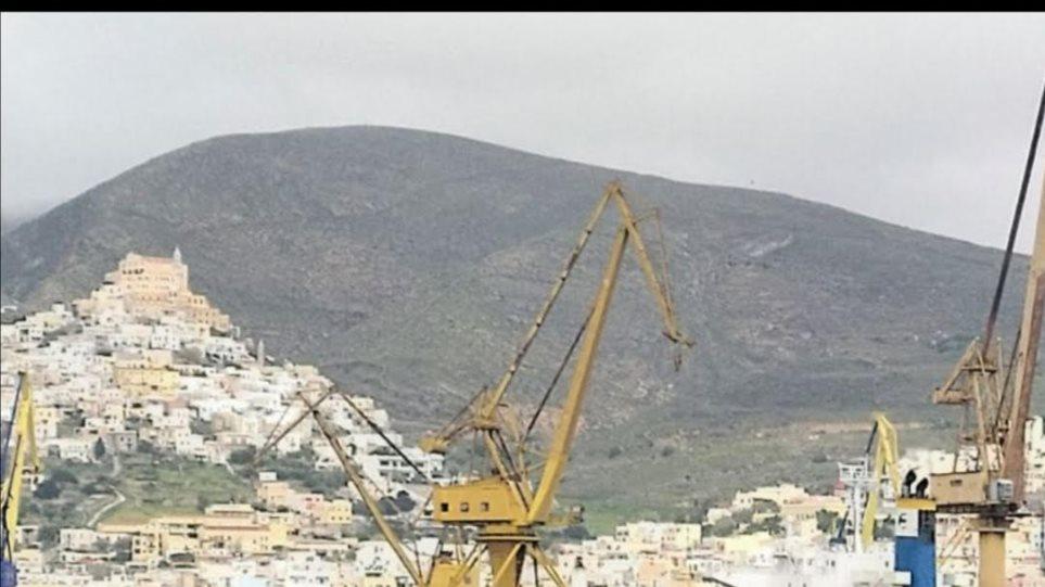 Πλοίο από Τουρκία στο ναυπηγείο της Σύρου - Σε καραντίνα το πλήρωμα - Φωτογραφία 1