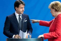 Σύνοδος Κορυφής: Ο «καβγάς» Μέρκελ-Κόντε για το κορωνο-ομόλογο μέσα από τον ξένο Τύπο