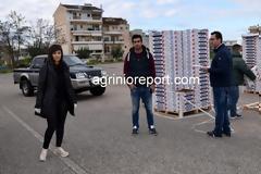 Δωρεάν ένα τόνο φράουλες και στο π. Δήμο Μεδεώνος με πρωτοβουλία της Περιφέρειας Δυτ. Ελλάδος