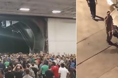 βίντεο: Το πλήρωμα του αεροπλανοφόρου Ρούσβελτ αποθεώνει τον κυβερνήτη που καθαιρέθηκε