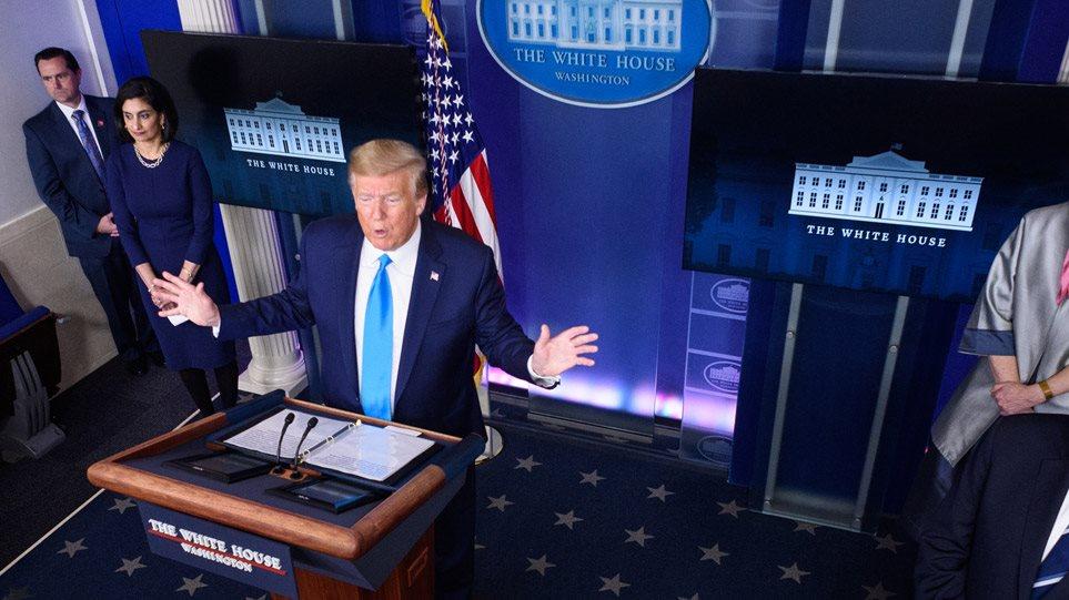 ΗΠΑ: Σχεδόν 2.000 θάνατοι σε 24 ώρες - Οι... μπερδεμένες απειλές Τραμπ προς τον ΠΟΥ - Φωτογραφία 1
