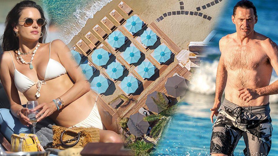 Μύκονος: Οι jet setters επιλέγουν το «νησί των ανέμων» και φέτος - Από τον Χιού Τζάκμαν στην Αλεσάντρα Αμπρόζιο - Φωτογραφία 1