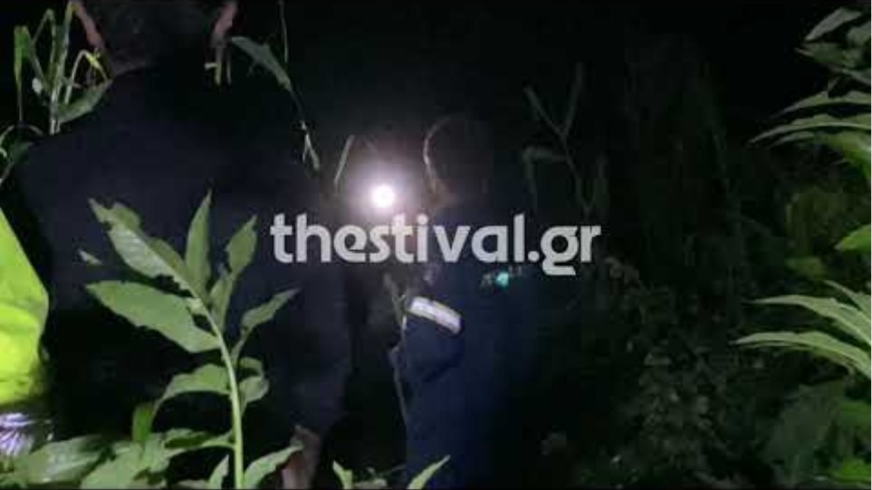 Δραματική διάσωση 21χρονου που παρασύρθηκε από χείμαρρο στο Καβαλάρι Θεσσαλονίκης - Φωτογραφία 2