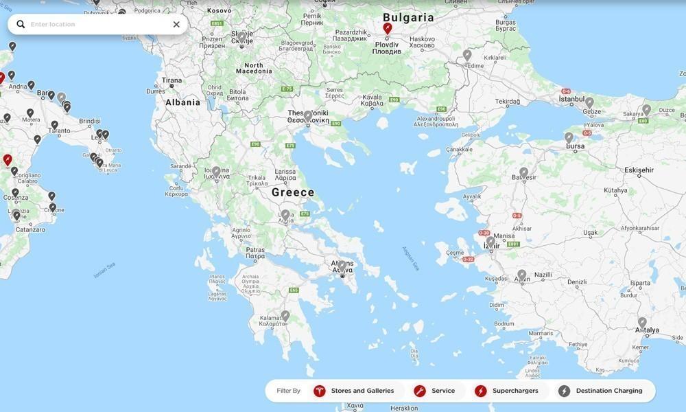 Ελλάδα: Πού θα βάλει η Tesla τους φορτιστές της; - Φωτογραφία 4