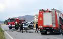 Λάρισα ...Αυτοκίνητο συγκρούστηκε με φορτηγό - Φωτογραφία 2