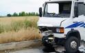 Λάρισα ...Αυτοκίνητο συγκρούστηκε με φορτηγό - Φωτογραφία 4