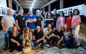 Πλήθος κόσμου στα εγκαίνια της έκθεσης του Photopolis Agrinio Photo Festival.