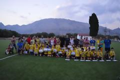 Η τελετή λήξης της Ακαδημίας Ποδοσφαίρου ΑΙΑΣ Αλυζίας. -Φωτογραφίες Βάσω Παππά