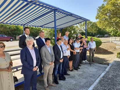 Τελέστηκε στα Καλύβια, το Μνημόσυνο στη μνήμη των εκτελεσθέντων πατριωτών στη Σιδηροδρομική γραμμή Αγρινίου-Κρυονερίου. - Φωτογραφία 2