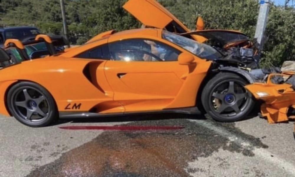 Πρώην οδηγός Φόρμουλα 1 διαλύει μία σπάνια McLaren - Φωτογραφία 1