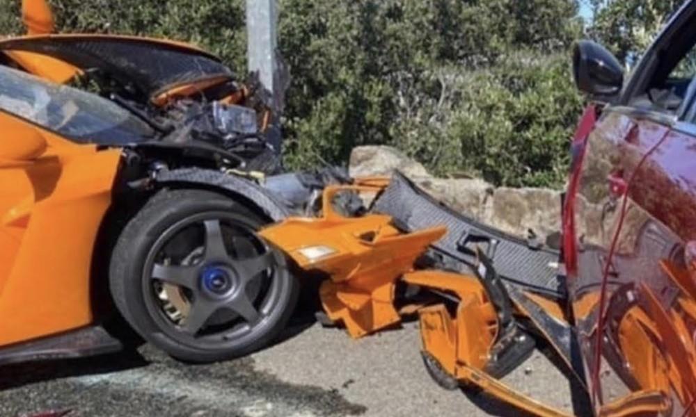 Πρώην οδηγός Φόρμουλα 1 διαλύει μία σπάνια McLaren - Φωτογραφία 3