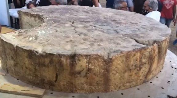 Ρεκόρ Γκίνες για το μεγαλύτερο τυρί πεκορίνο στον κόσμο από τη Σαρδηνία - Φωτογραφία 1