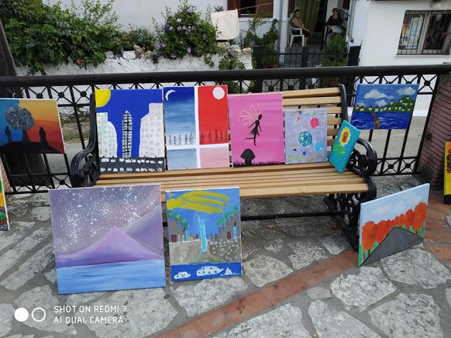 Τα παιδιά ζωγραφίζουν και εκθέτουν στην Κανδήλα, δείτε τις δημιουργίες τους. - Φωτογραφία 2