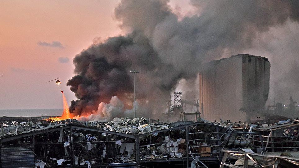 Βηρυτός - Δύο τεράστιες εκρήξεις σε αποθήκες βεγγαλικών - Τουλάχιστον 10 νεκροί-βίντεο - Φωτογραφία 1