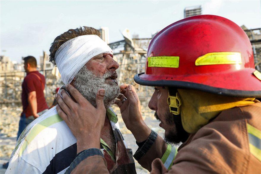 Βηρυτός - Δύο τεράστιες εκρήξεις σε αποθήκες βεγγαλικών - Τουλάχιστον 10 νεκροί-βίντεο - Φωτογραφία 10