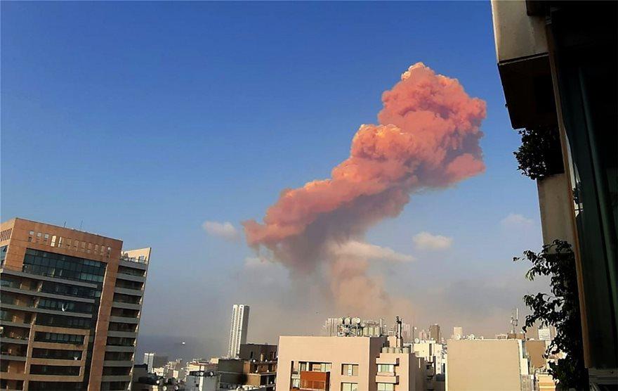 Βηρυτός - Δύο τεράστιες εκρήξεις σε αποθήκες βεγγαλικών - Τουλάχιστον 10 νεκροί-βίντεο - Φωτογραφία 4