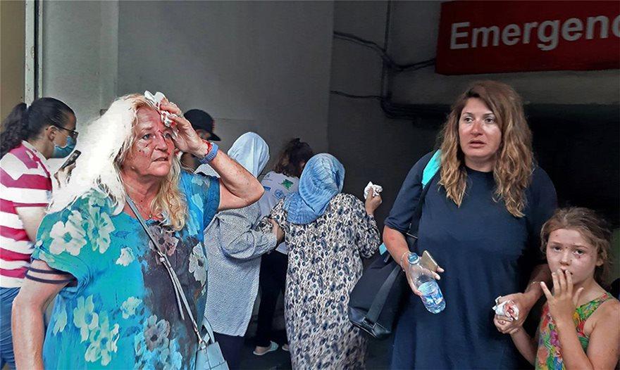 Βηρυτός - Δύο τεράστιες εκρήξεις σε αποθήκες βεγγαλικών - Τουλάχιστον 10 νεκροί-βίντεο - Φωτογραφία 8