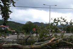 Ξεκίνησε η επέλαση της κακοκαιρίας «Θάλεια» - Βροχές και χαλαζοπτώσεις σε περιοχές της χώρας
