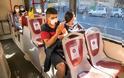 Κορωνοϊός: Πόσο εύκολο είναι να κολλήσουμε στα μέσα μαζικής μεταφοράς
