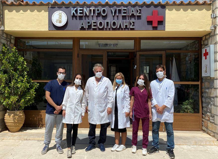 ΑΠΟΒΑΣΗ Φοιτητών Ιατρικής στο Κέντρο Υγείας Αρεόπολης - Φωτογραφία 1