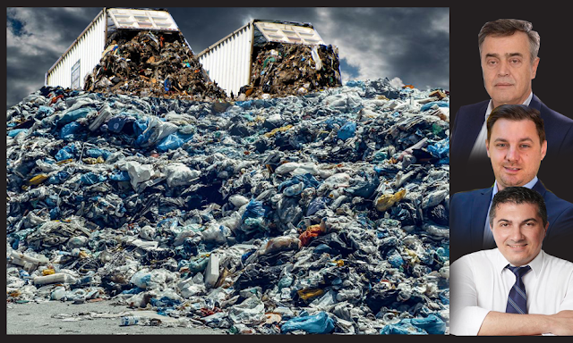 Kώστας Τριαντακωνσταντής: 4.500 τόνοι σκουπίδια  από το Δήμο Αιγιαλείας στο ΧΥΤΑ- χωματερή πολυτελείας στη Πάλαιρο - Φωτογραφία 1