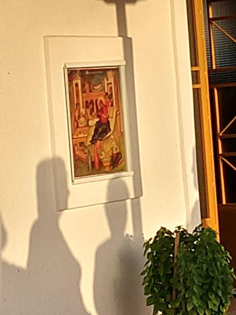 Εσπερινός και Θεία λειτουργία στο εκκλησάκι του Ρίβιου που είναι αφιερωμένο στο γενέθλιο της Παναγίας. - Φωτογραφία 2