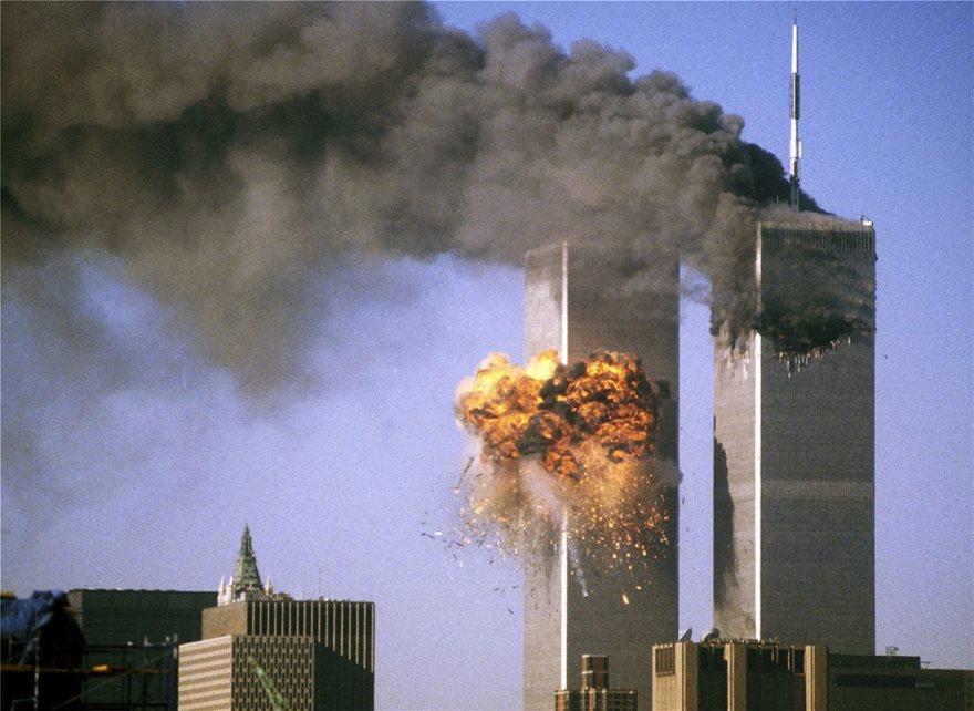 11 Σεπτεμβρίου: Οι Αμερικανοί τιμούν με μάσκες τα θύματα στους Δίδυμους Πύργους - Φωτογραφία 3