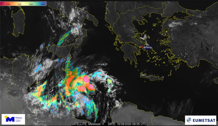Απότομη μεταβολή του καιρού: Πτώση θερμοκρασίας, θυελλώδεις άνεμοι και πιθανότητα Μεσογειακού κυκλώνα - Φωτογραφία 5