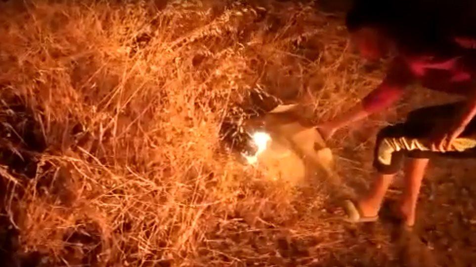 Λέσβος, βίντεο-ντοκουμέντο: Έτσι έβαλαν οι Αφγανοί τις φωτιές που κατέκαψαν τη Μόρια - Φωτογραφία 1
