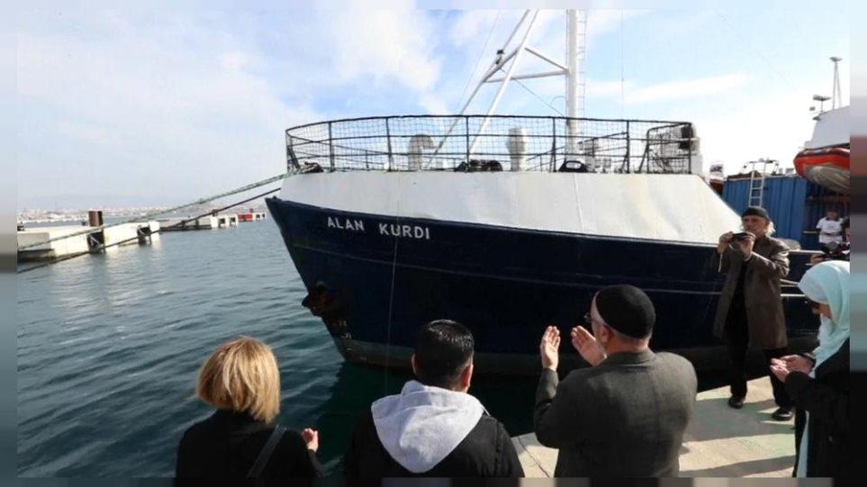 Το Alan Curdi διέσωσε 133 μετανάστες στη Μεσόγειο - Φωτογραφία 1