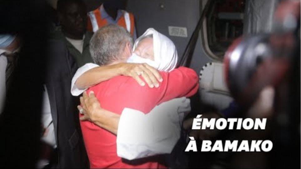 Γαλλίδα που έμεινε 4 χρόνια αιχμάλωτη τζιχαντιστών ξανασμίγει με τον γιο της! - Φωτογραφία 2