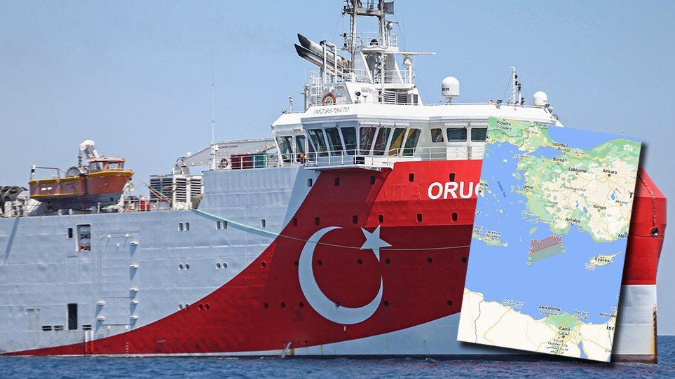 Γιατί ο Ερντογάν το τραβάει στα άκρα με το Oruc Reis - Φωτογραφία 1