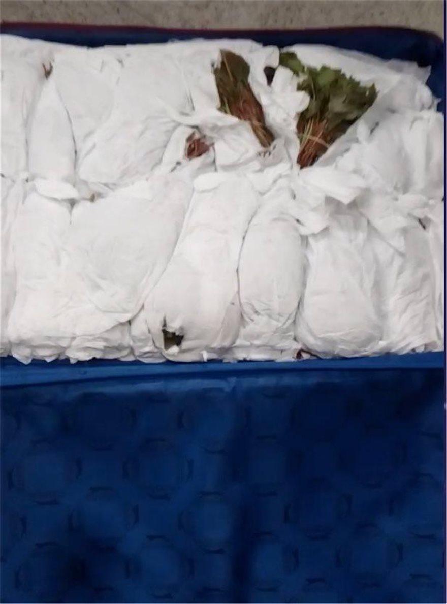 Ελ. Βενιζέλος: Αλλοδαποί προσπάθησαν να περάσουν 100 κιλά ναρκωτικών σε βαλίτσες - Φωτογραφία 4