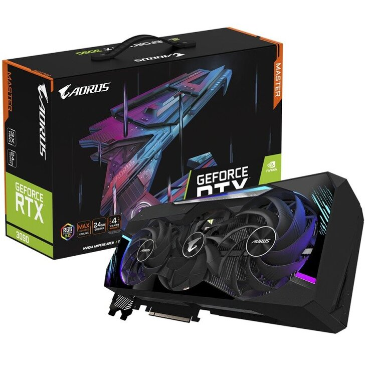 AORUS RTX 3090 Xtreme & Master GPUs για όλους - Φωτογραφία 1