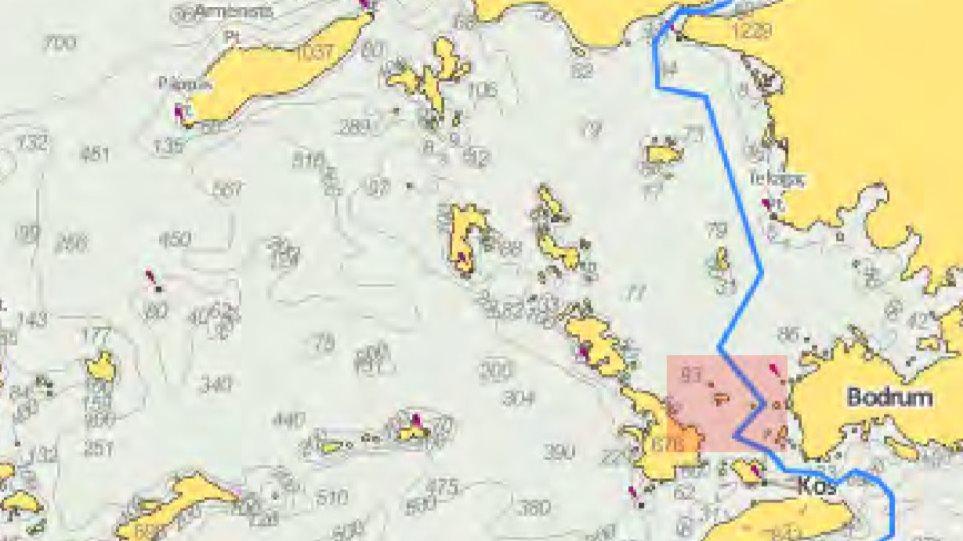 Η τουρκική μονταζιέρα «έκοψε» τα Ίμια από το προκλητικό non paper - Φωτογραφία 1