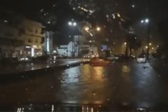 Κρήτη - Έπεσε το… ταβάνι στο «Νίκος Καζαντζάκης» - Ποτάμια οι δρόμοι, πλημμύρισαν υπόγεια