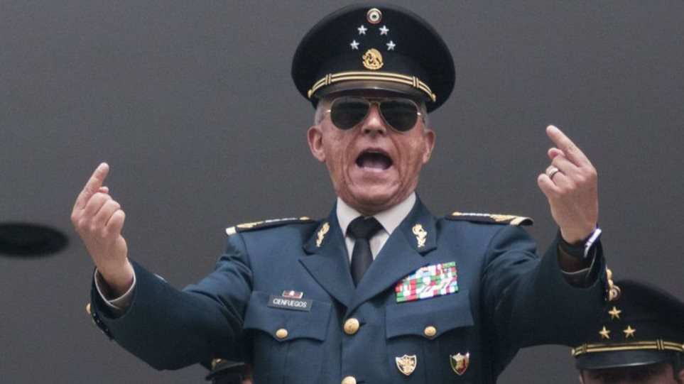 Παραμένει προφυλακισμένος στις ΗΠΑ ο «νονός» πρώην υπουργός Άμυνας του Μεξικού - Φωτογραφία 1