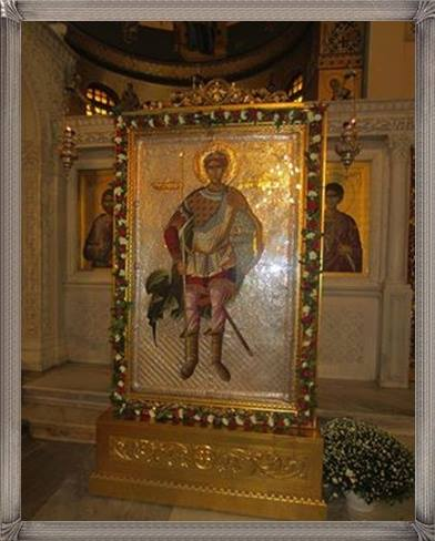 Άγιε του Θεού Μεγαλομάρτυς Δημήτριε, πρέσβευε υπέρ ημών - Φωτογραφία 1