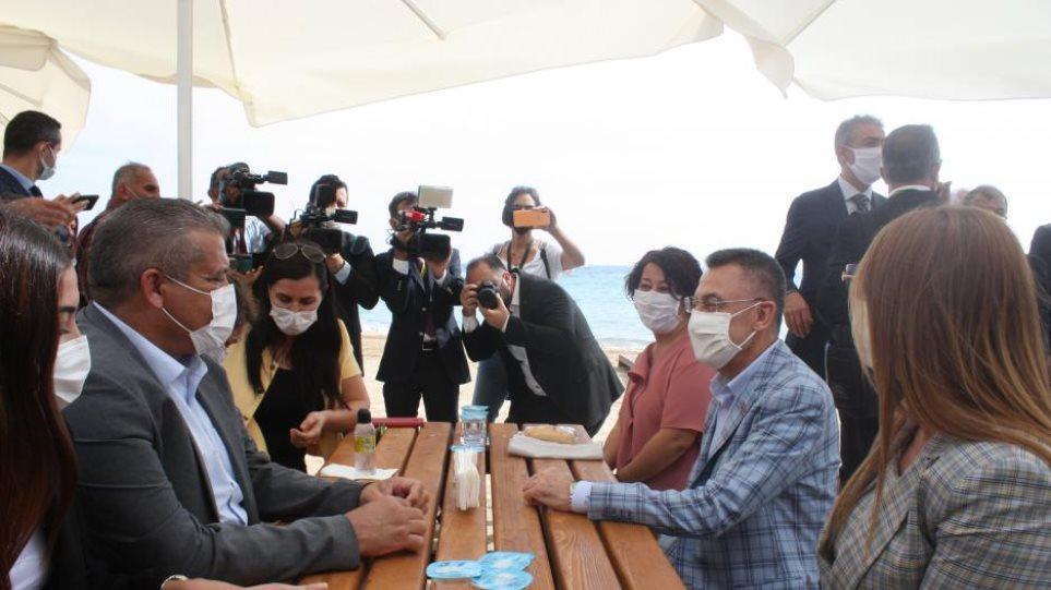 Ο Τούρκος αντιπρόεδρος Φουάτ Οκτάι μπήκε στην Αμμόχωστο - Φωτογραφία 1