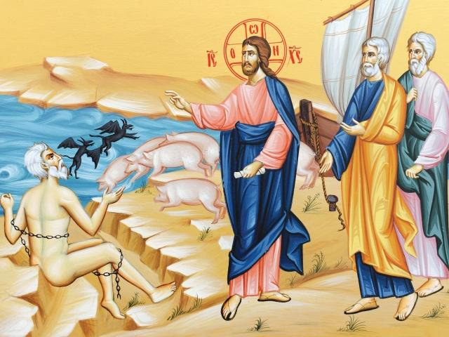 Ὁμιλία, σὺν Θεῷ, στὴν εὐαγγελικὴ περικοπὴ τῆς ΣΤ´ Κυριακῆς τοῦ Λουκᾶ (Λουκ. 8, 26-39) - Φωτογραφία 1